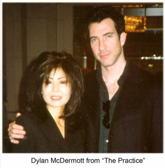 "Dylan McDermott from ""The Practice"""