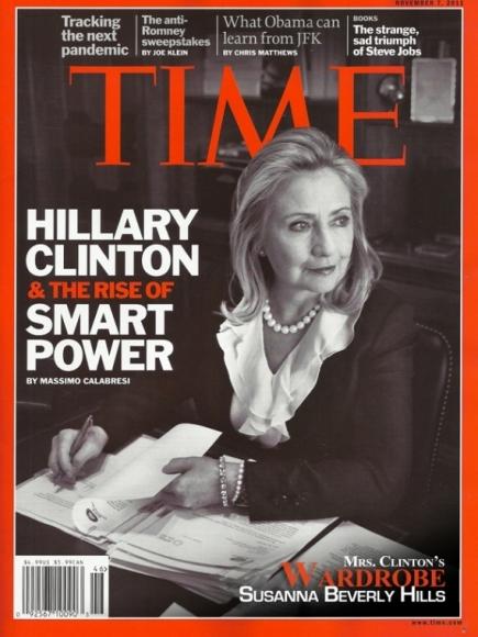 Hillary Clinton wear the famous pantsuit