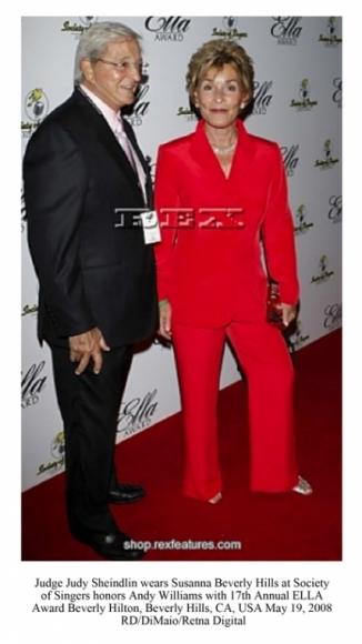 Judge Judy Sheindlin wears Susanna Beverly Hills