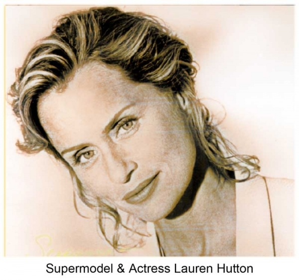 Supermodel & Actress Lauren Hutton