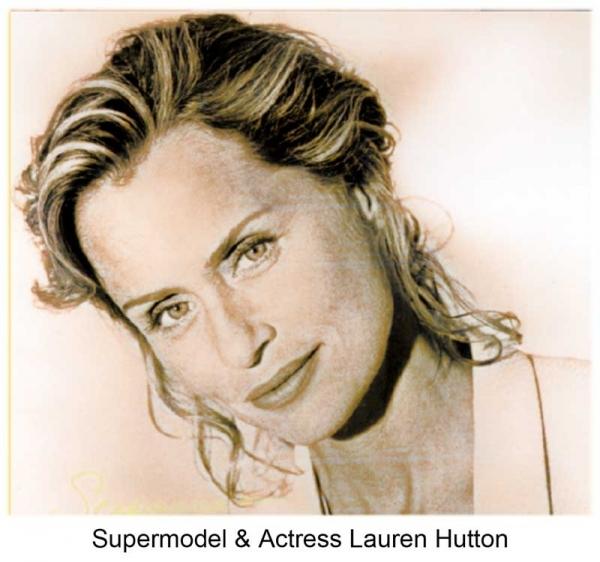 Supermodel & Actress Lauren Hutton