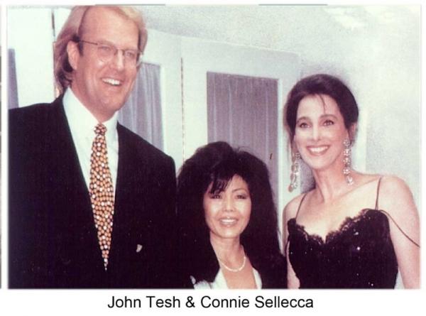 John Tesh & Connie Sellecca
