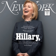 Hillary Clinton on the cover of New York Magazine