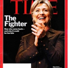 Hillary Clinton wears haute couture designer Susanna Beverly Hills