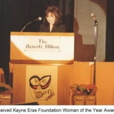 Susanna Chung Forest received the Kayne Eras Foundation
