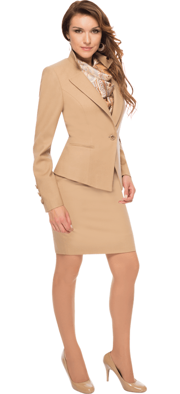 Beverly Hills Womens Career Skirtsuit