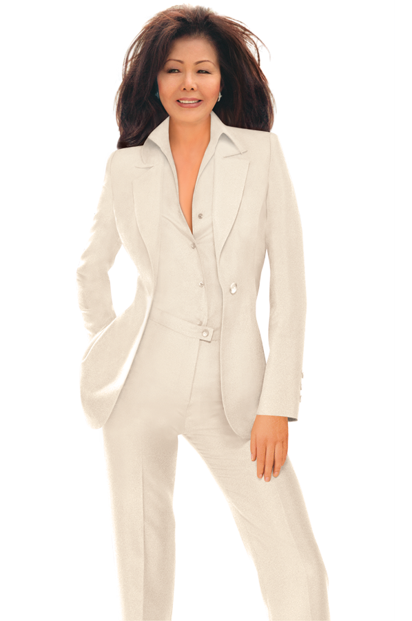The Famous Cream Pantsuit