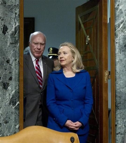 Hillary Rodham Clinton,  Patrick Leahy