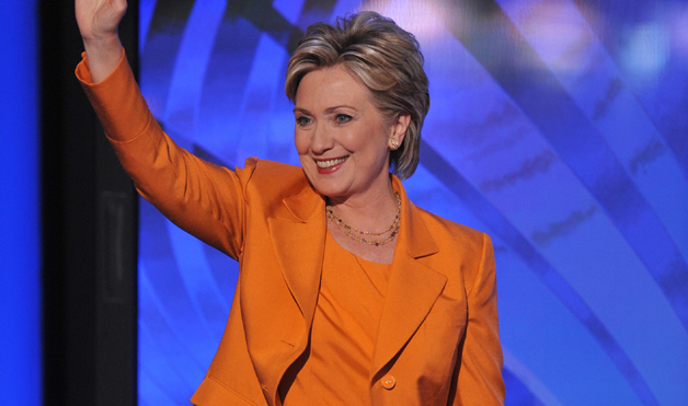 Hillary Clinton's designer of the famous pantsuit, Susanna of Beverly Hills