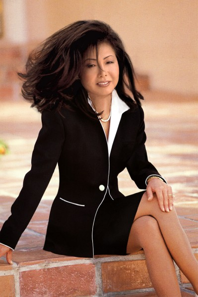 black and white women's suit