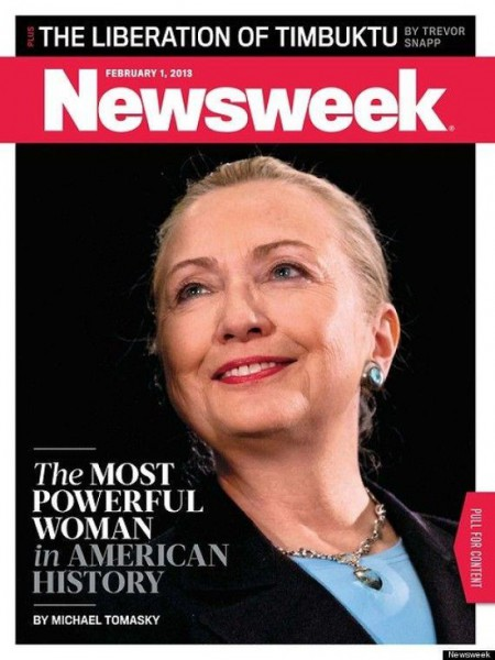 Hillary Clinton Project Pantsuit Newsweek
