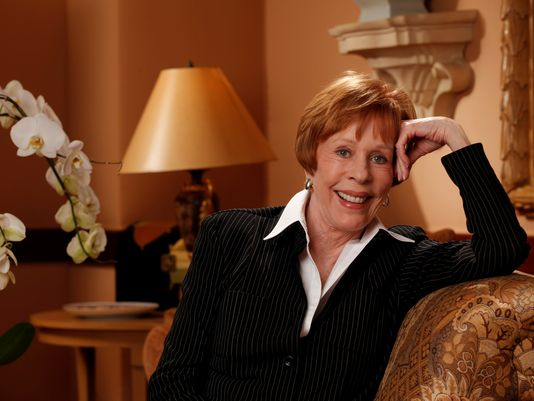 Carol Burnett wears Susanna Beverly Hills
