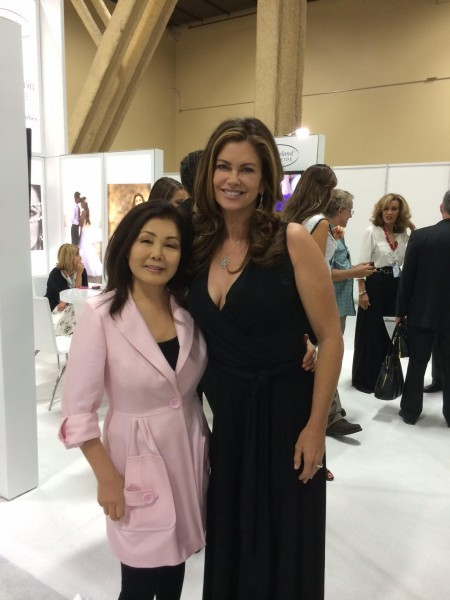 Susanna and Kathy Ireland at the Licensing Expo