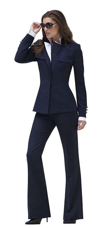 luxurious womens suit