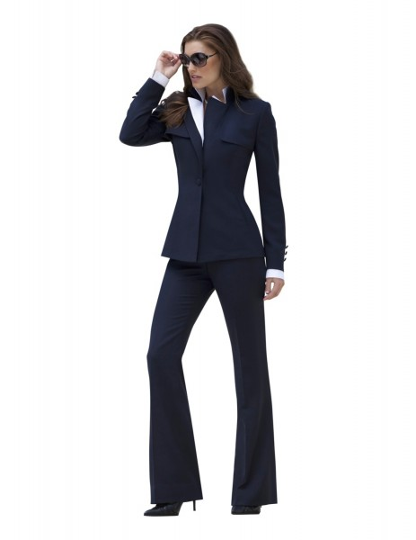 The Famous Navy Pantsuit