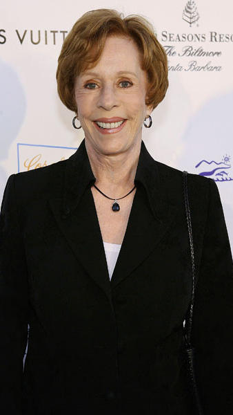Carol Burnett in a Stunning Little Black Suit Designed by Susanna Beverly Hills