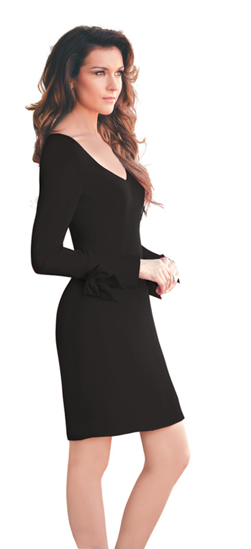 Elegant Black Cocktail dress for a Night Out
