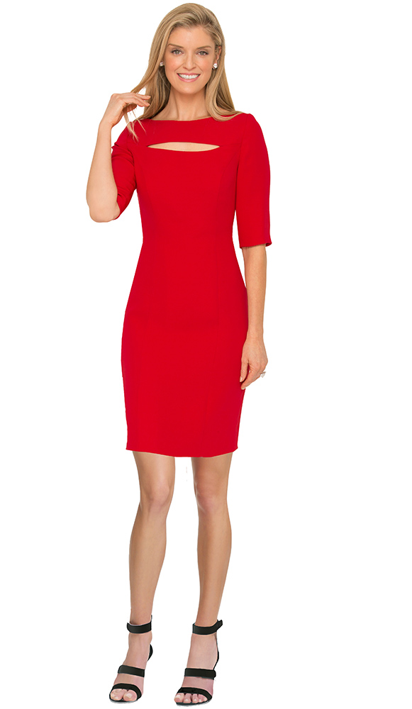 susanna beverly hills red dress