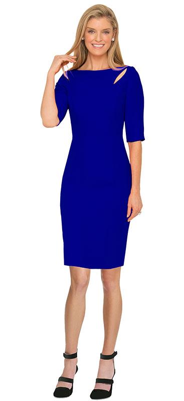 royal-blue-cut-out-cocktail-dress
