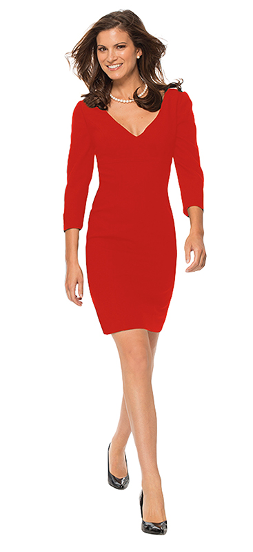 Beverly Hills Womens Fashion - The Red Cocktail Dress