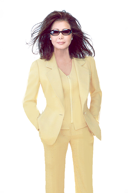 yellow-pants-suit