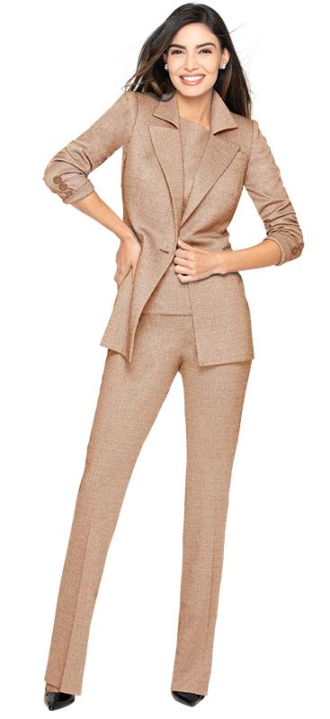 elegant-camel-pant-suit