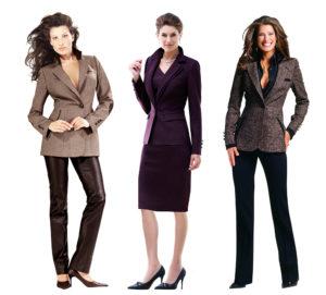 Successful Woman Business Attire